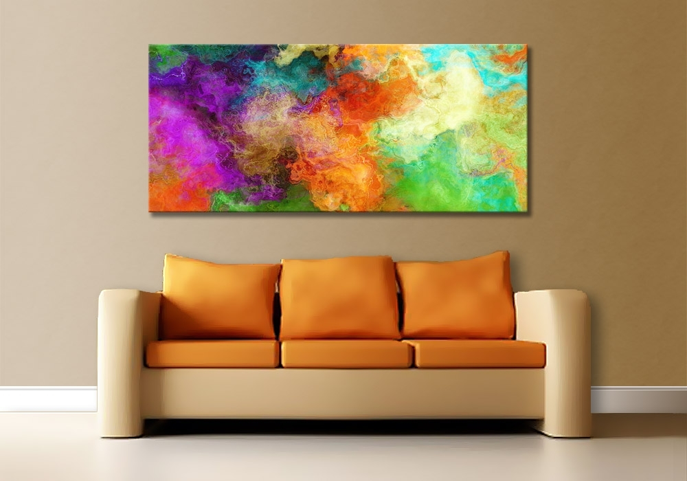 Modern Wall Art For Sale Intended For Famous Canvas Art Prints For Sale Modern Art Print On Canvas Luminous (View 9 of 15)