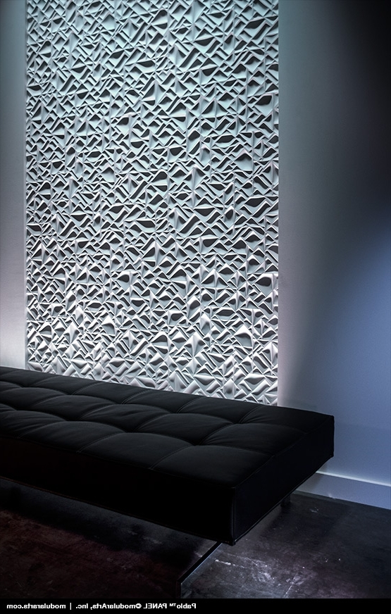 Modulararts® Interlockingrock® In Modular Wall Art (View 9 of 15)
