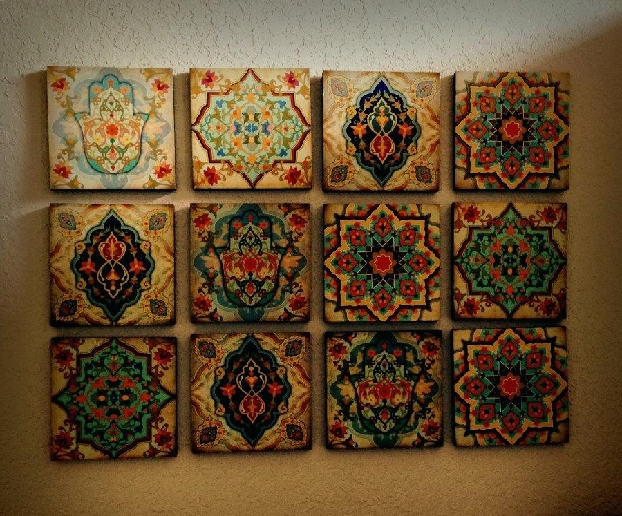 Moroccan Wall Hanging Zoom Moroccan Metal Wall Art – Revolumbi Regarding Newest Moroccan Metal Wall Art (View 12 of 15)