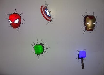 Most Current 35 Avengers 3D Wall Art, Articles With Avengers 3D Wall Art Light Pertaining To Marvel 3D Wall Art (View 11 of 15)