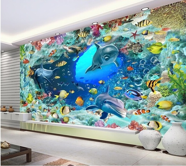 Most Current 3D Glass Wall Art For Tv Background Printing Ceramic Tiles 3D Wall Tiles 3D Wall Decor 3D (View 4 of 15)