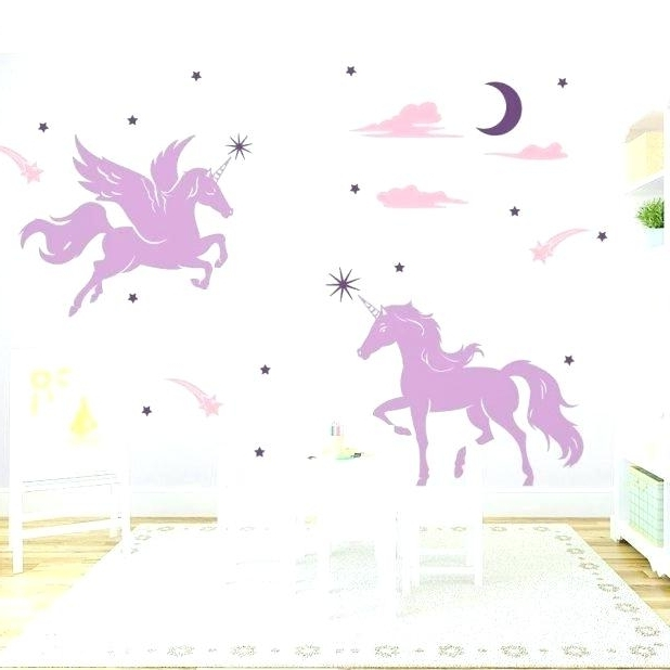 Most Current 3D Unicorn Wall Art For Unicorn Wall Art – Manymany (View 9 of 15)