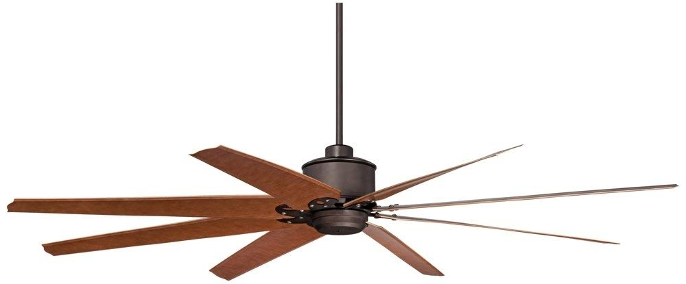"Most Current 72 Predator Bronze Outdoor Ceiling Fans With Light Kit Regarding 72"" Predator English Bronze Outdoor Ceiling Fan – – Amazon (View 5 of 15)"