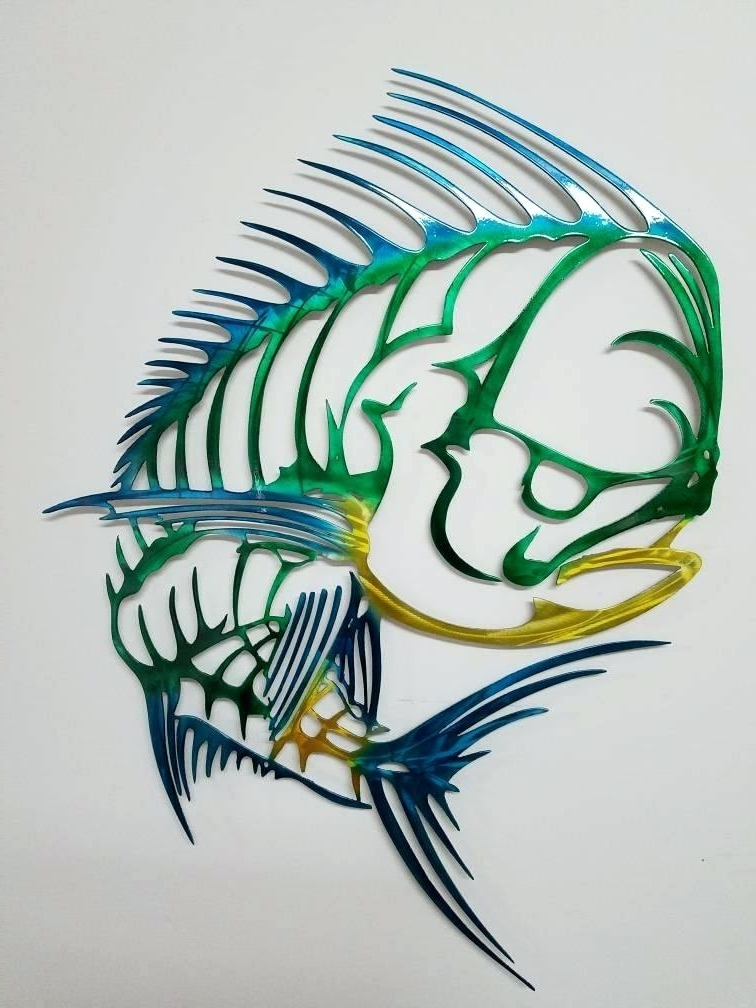 Most Current Abstract Metal Fish Wall Art Throughout Metal Fish Wall Art Wall Art Metal Sculpture Image Of Abstract Metal (View 14 of 15)