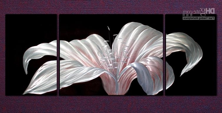 Most Current Abstract Metal Wall Art Panels Pertaining To 2018 Metal Wall Art Abstract Modern Sculpture Painting Handmade  (View 10 of 15)