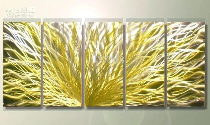 Most Current Abstract Metal Wall Art Sculpture Aluminum Dimension 2 Each Metal Within Aluminum Abstract Wall Art (View 14 of 15)