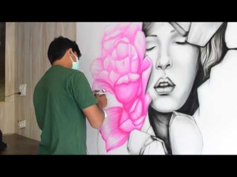 Featured Photo of Airbrush Wall Art