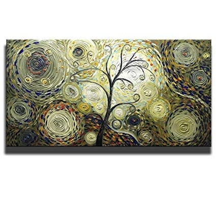 Most Current Amazon: Asdam Art – Vintage Hand Painted 3D Paintings On Canvas For Vintage 3D Wall Art (View 5 of 15)