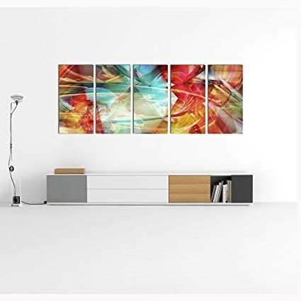 Most Current Buy Abstract Design Modern Metal Wall Art, Abstract Metal Wall Regarding India Abstract Metal Wall Art (View 3 of 15)