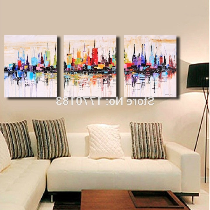 Most Current Canvas Wall Art 3 Piece Sets Intended For Three Piece Canvas Art – Psycc (View 10 of 15)
