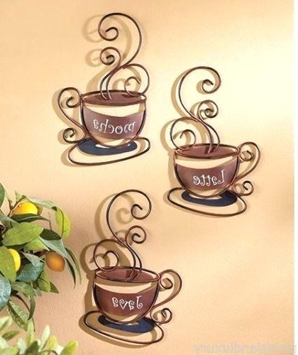 Most Current Coffee Theme Metal Wall Art With Cafe Metal Wall Art Featured Image Of Metal Wall Art Coffee Theme (View 12 of 15)