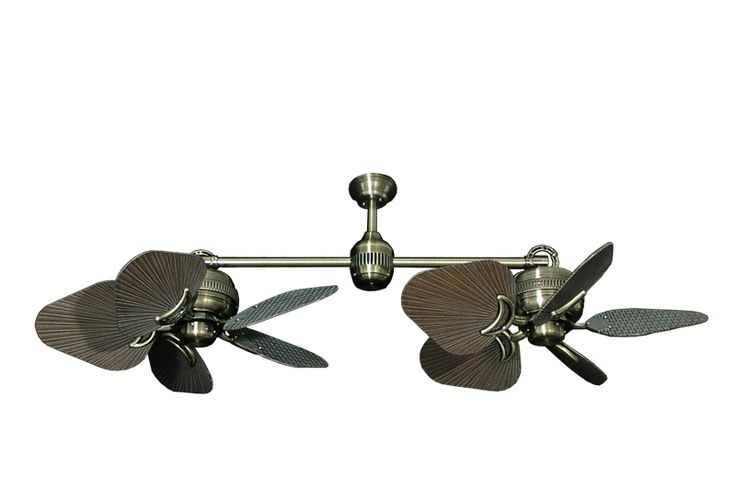 Most Current Dual Outdoor Ceiling Fans With Lights For 32 Best Outdoor Ceiling Fans Images On Pinterest (View 10 of 15)