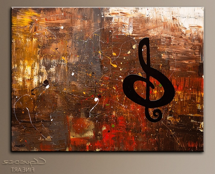 Most Current Fascinating Jazz Wall Art Home Remodel Ideas Music For The Soul With Abstract Musical Notes Piano Jazz Wall Artwork (View 9 of 15)