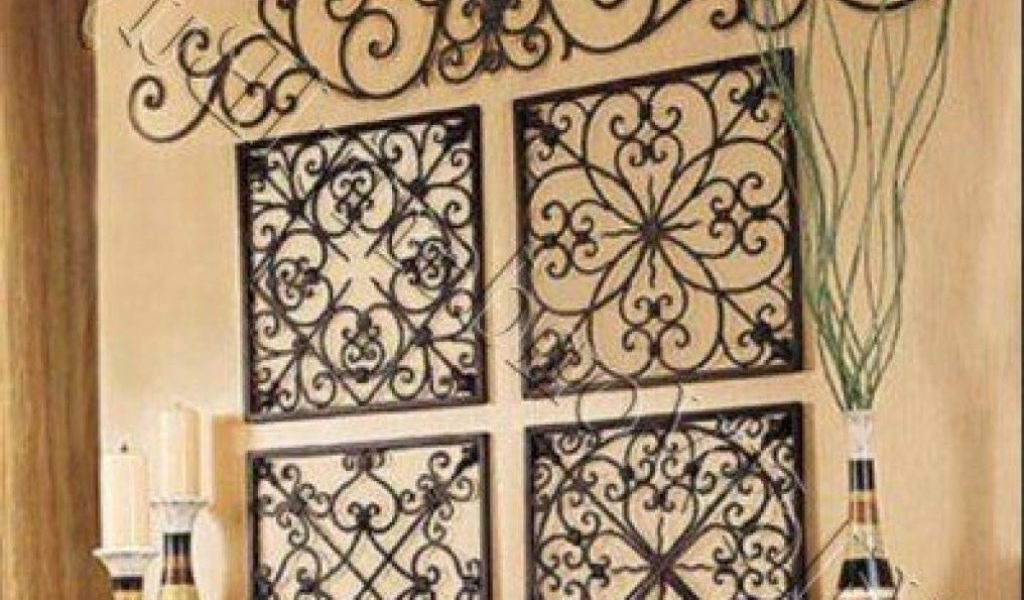 Most Current Faux Wrought Iron Wall Art Within 44 Elegant White Wrought Iron Wall Decor (View 12 of 15)