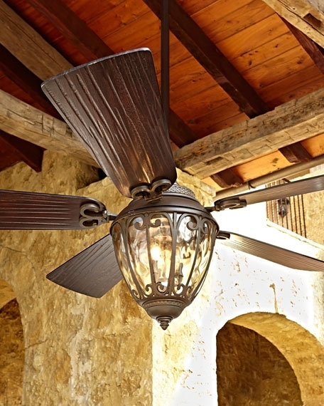 """Most Current High End Outdoor Ceiling Fans Within 70"""" Olivier Outdoor Ceiling Fan (View 5 of 15)"""