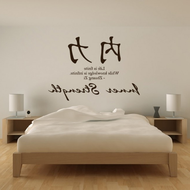 Most Current Inner Strength Chinese Proverb Wall Sticker Chinese Symbol, Chinese Throughout Chinese Symbol For Inner Strength Wall Art (View 10 of 15)