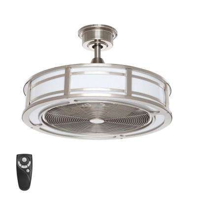Most Current Integrated Led – Outdoor – Ceiling Fans – Lighting – The Home Depot Pertaining To Outdoor Ceiling Fan Light Fixtures (View 3 of 15)