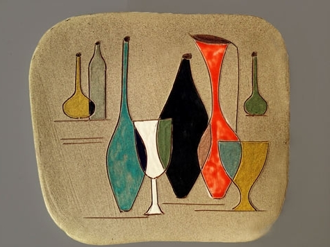 Most Current Italian Ceramic Wall Art Intended For Wall Plaques – Ceramics And Pottery Arts And Resources (View 4 of 15)