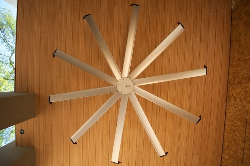 Most Current Large Outdoor Ceiling Fans With Lights In Modern Outdoor Ceiling Fan (View 10 of 15)