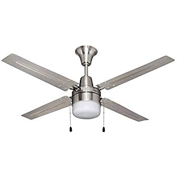 Most Current Litex E Ub48Bc4C1 Urbana 48 Inch Ceiling Fan With Four Brushed In Outdoor Ceiling Fans At Costco (View 6 of 15)