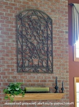 Most Current Metal Gate Wall Art For Wall Art Ideas Design : Ideas Decor Metal Gate Wall Art Dray Teal (View 12 of 15)