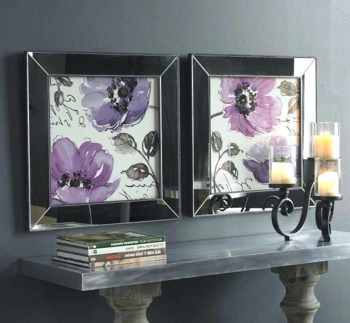 Most Current Mirrored Frame Wall Art Love Mirrored Framed Art These Prints Throughout Mirrored Frame Wall Art (View 8 of 15)