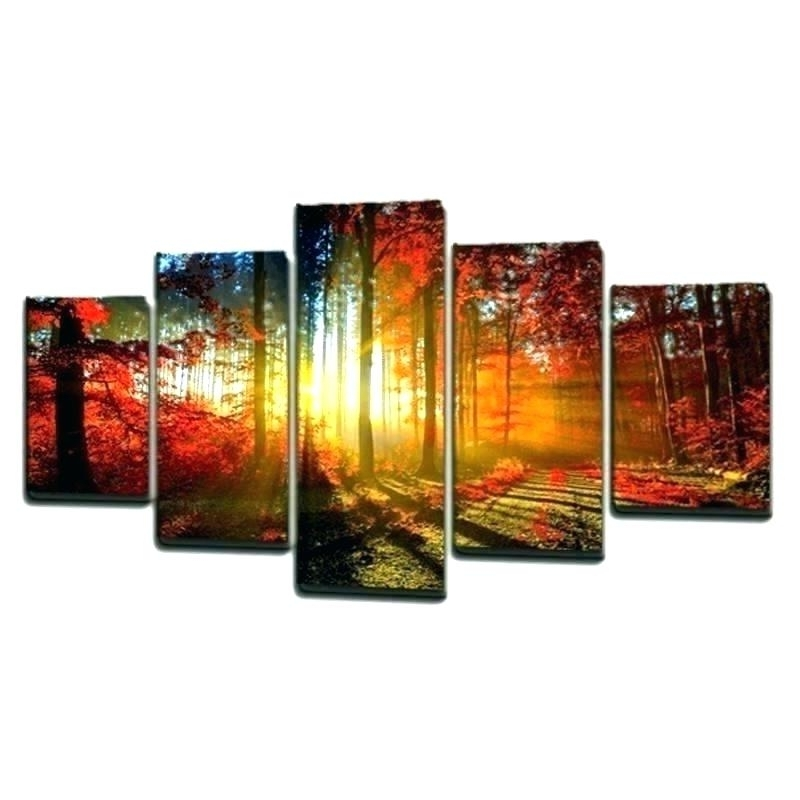 Most Current Multiple Piece Wall Art Pertaining To Multi Panel Canvas Art Wall Set – Adweek (View 15 of 15)