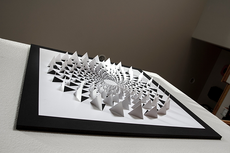 Most Current Optical Illusion Wall Art For A Mind Bending 3D Optical Illusion Wall Art Made Using One Sheet Of (View 5 of 15)
