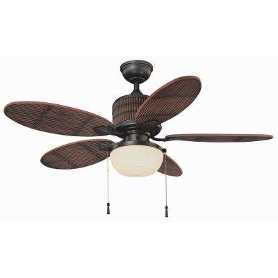 Most Current Outdoor Ceiling Fans At Home Depot Intended For Brown – Outdoor – Ceiling Fans – Lighting – The Home Depot (View 10 of 15)