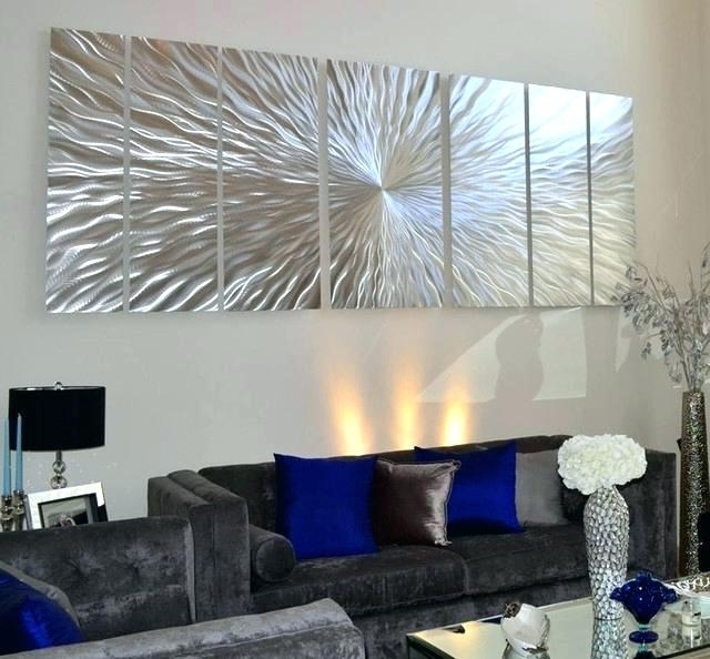 Most Current Oversized Modern Wall Art Pertaining To Large Contemporary Wall Art – Designdriven (View 15 of 15)