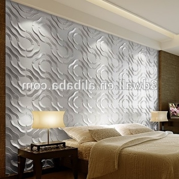 Most Current Painting 3D Wall Panels Pertaining To Beautiful Oil Painting 3D Wall Covering Panels Bathroom Plastic Wall (View 8 of 15)