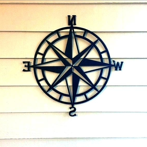 Most Current Seaside Metal Wall Art Beach Themed Home Decor Nautical Ideas Intended For Seaside Metal Wall Art (View 14 of 15)