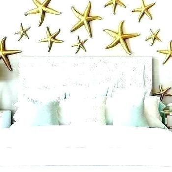 Most Current Starfish Wall Decor Gray And Gold Bedroom With Mint Green Bedding With Regard To Large Starfish Wall Decors (View 11 of 15)