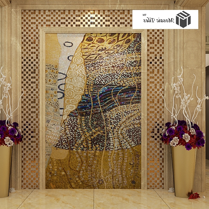 Most Current Tst Mosaic Murals Parquet Art Mosaic Abstract Painting Hallway Throughout Abstract Mosaic Art On Wall (View 14 of 15)