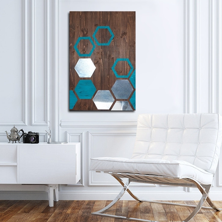 Most Current Unique Modern Wall Art And Decor Intended For Modern Metal Wall Art Decor Ideas (View 12 of 15)