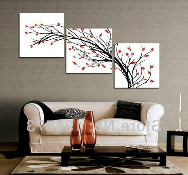 Most Current Wall Art Sets For Living Room For Amazing Of Living Room Wall Decor Sets 3Diagonalwallartset Piece (View 3 of 15)