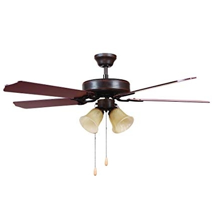 Most Current Y Decor Big Joe Modern, Transitional, Traditional 52 Inch Outdoor Pertaining To Traditional Outdoor Ceiling Fans (View 3 of 15)