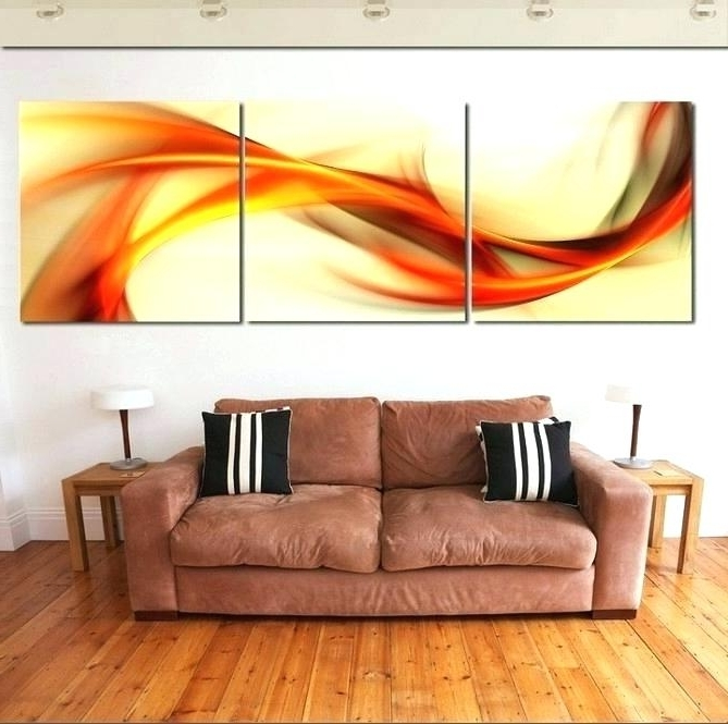 Most Popular 3 Pc Canvas Wall Art Sets Regarding 3 Piece Canvas Wall Art Set – Lenes (View 11 of 15)