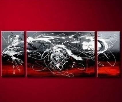 Most Popular 3 Piece Abstract Wall Art – Nuestro Art Throughout 3 Piece Abstract Wall Art (View 4 of 15)