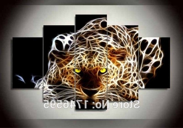 Most Popular Abstract Animal Wall Art With Big Size Kids Wall Decor Abstract Animal Wall Art Picture Decor (View 8 of 15)