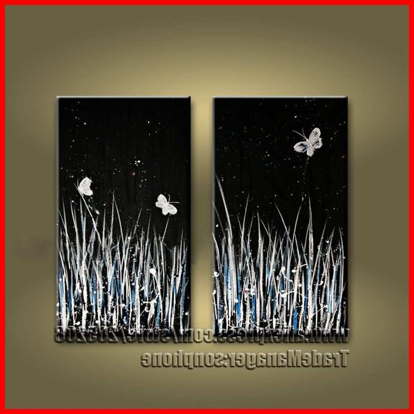 Most Popular Abstract Nature Wall Art With Black Art Canvas Paintings Fresh Image Gallery Nature Canvas Art (View 14 of 15)