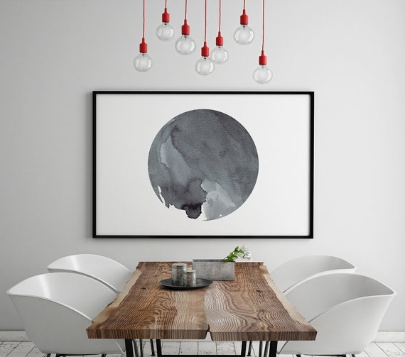 Most Popular Amazing Design Ideas Horizontal Wall Art Small Home Decor Throughout Horizontal Abstract Wall Art (View 15 of 15)