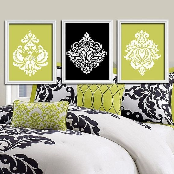 Most Popular Black And White Damask Wall Art Inside Sisters Wall Art, Quote Decor, Shared Girl Bedroom Wall Decor (View 4 of 15)