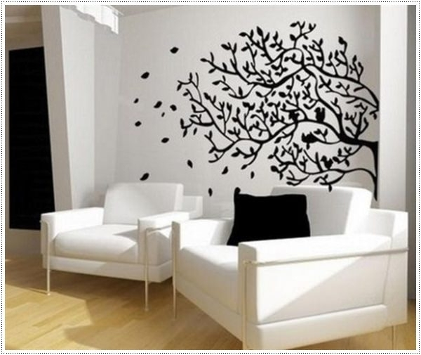 Most Popular Cheap Black And White Wall Art In 45 Easy To Make Wall Art Ideas For Those On A Budget (View 10 of 15)