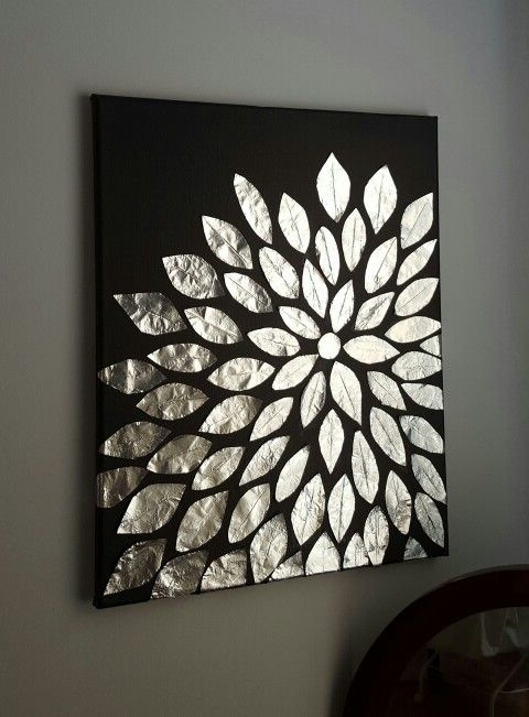 Most Popular Diy Pinterest Canvas Art Throughout Diy Wall Art (View 3 of 15)