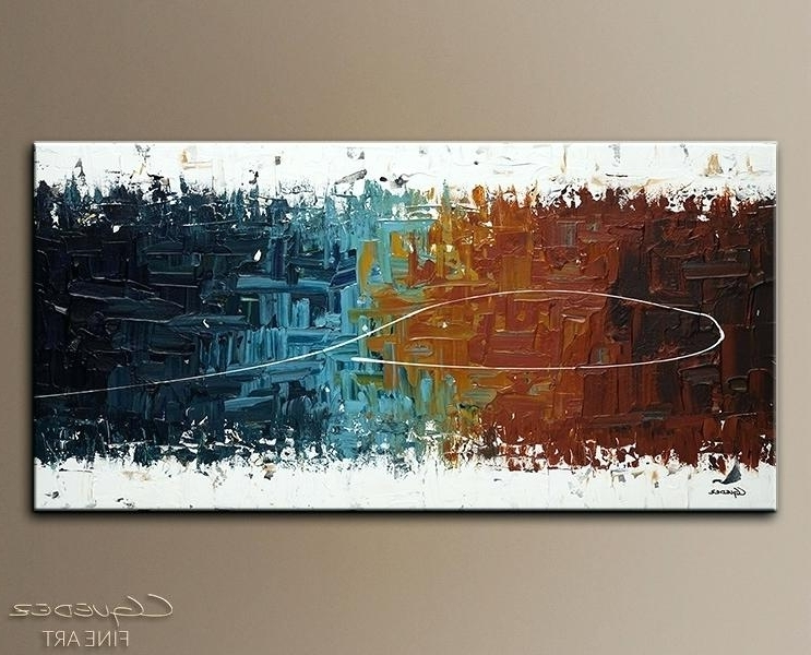 Most Popular Enchanting Large Wall Painting Abstract Painting Large Abstract Wall For India Abstract Wall Art (View 12 of 15)