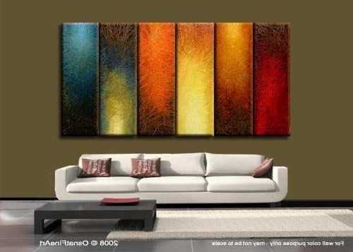Most Popular Huge Abstract Wall Art Intended For Large Canvas For Sale Awesome Wall Art Designs Best Item Designing (View 11 of 15)