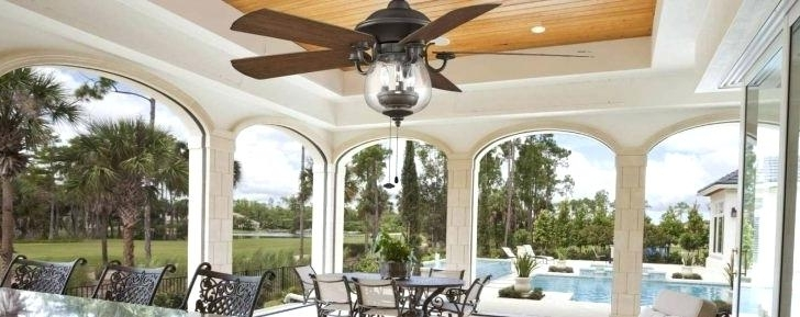 Most Popular Hunter Outdoor Ceiling Fans With Lights Flush Mount Fan Light With Regard To Hunter Outdoor Ceiling Fans With Lights (View 11 of 15)