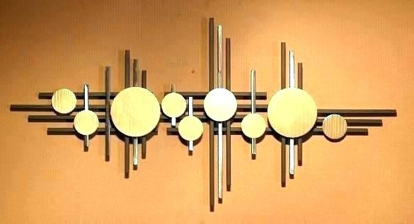 Most Popular India Abstract Metal Wall Art Throughout Contemporary Wall Art Metal Modern Wall Art Metal Wall Art Abstract (View 11 of 15)