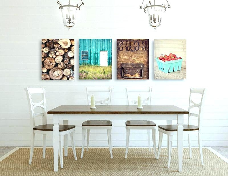 Most Popular Kitchen Wall Decor Pictures Kitchen Wall Art Sets Farmhouse Wall Art Intended For Kitchen Wall Art Sets (View 12 of 15)